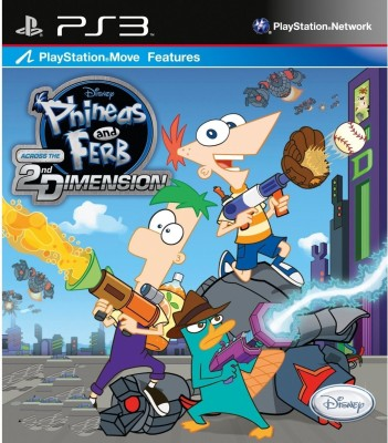Buy Phineas And Ferb: Across The 2nd Dimension: Av Media