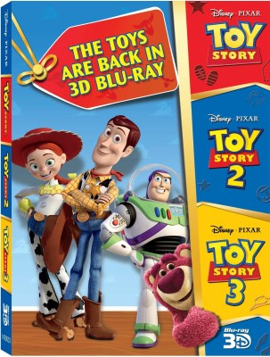Buy 3D Bluray Pack 2 (Toy Story, Toy Story 2, Toy Story 3): Av Media
