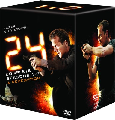 Buy 24: Seasons 1-7+ Redemption: Av Media