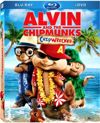 Buy Alvin And The Chipmunks: Chipwrecked (Blu Ray + DVD): Av Media