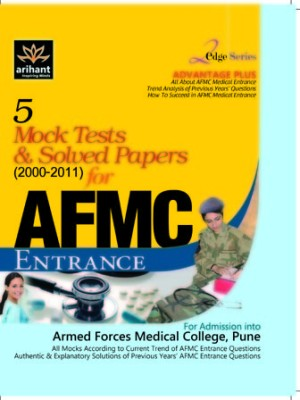 Buy 5 Mock Tests & Solved Papers for AFMC Entrance 1st Edition: Book