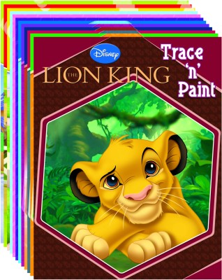 Buy Trace N Paint (Set Of 12 books): Book