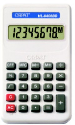 Buy Orpat HL0408BD Basic: Calculator