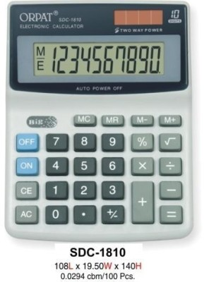 Buy Orpat SDC 1810 Basic: Calculator