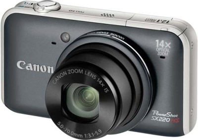 Buy Canon PowerShot SX220 HS Point & Shoot: Camera