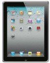 Amzer 90783 Luxe Argyle High Gloss TPU Soft Gel Skin Case For IPad 2 - Clear