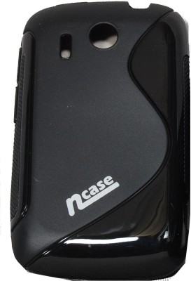 Buy nCase Back Cover PFBC-8504BK for HTC Explorer A310E (Black): Cases Covers