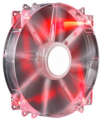 Buy Cooler Master Megaflow 200 RED LED Silent Fan Cooler: Cooler