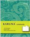 Karunavan Paisley Series Green And Light Green Band Journal Non Spiral Hard Bound