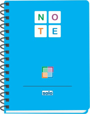 Buy Solo Management (Pack of 2) A5 Notebook Spiral Binding: Diary Notebook