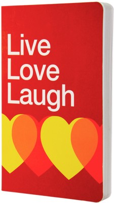 Buy Letternote Vivid Series Live Love Laugh Notebook Soft Bound: Diary Notebook