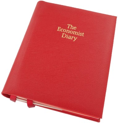 Buy The Economist World Business Info Diary Comb Bound: Diary Notebook