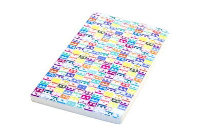Buy Letternote Vivid Series Cassettes Notebook Soft Bound: Diary Notebook