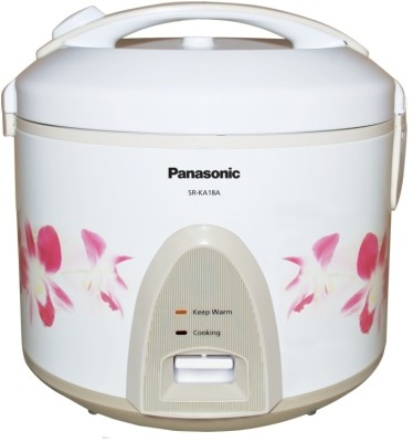 Buy Panasonic SR KA 18 A 1.8 L Rice Cooker: Electric Cooker