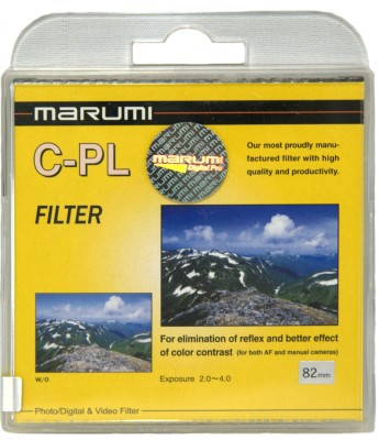 Buy Marumi 82 mm Circular Polarizer Filter: Filter