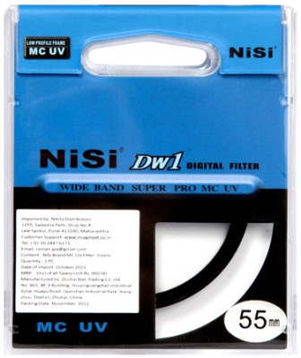 Buy Nisi 55 mm Ulta Violet Filter: Filter