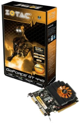 Buy ZOTAC NVIDIA Geforce GT440 1 GB DDR3 Graphics Card: Graphics Card