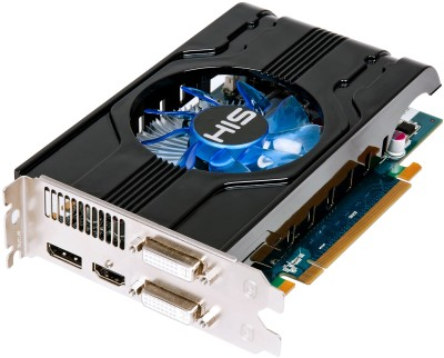 Buy HIS AMD/ATI Radeon HD 6770 1 GB GDDR5 Graphics Card: Graphics Card