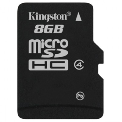Buy Kingston Memory Card MicroSD 8 GB Class 4: Memory Card