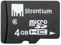 Strontium Memory Card 4 GB MicroSD Card (Class 6): Memory Card