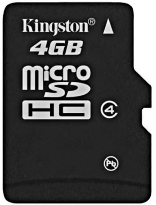 Buy Kingston Memory Card MicroSD 4 GB Class 4: Memory Card