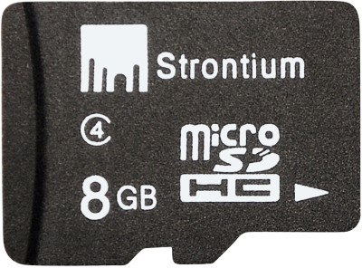 Buy Strontium Memory Card 8GB MicroSD Memory Card (Class 4): Memory Card