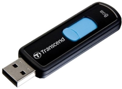Buy Transcend JetFlash 500 8 GB Pen Drive: Pendrive