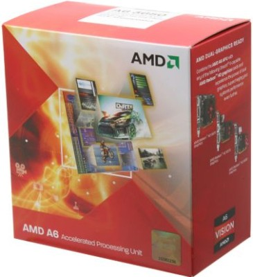 Buy AMD 2.6 GHz FM1 uPGA A6 3650 Processor: Processor