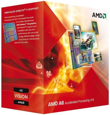 Buy AMD 2.1 GHz FM1 uPGA A6 3500 Processor: Processor