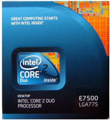 Buy Intel 2.93 GHz LGA775 Core 2 Duo E7500 Processor: Processor