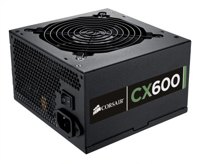 Buy Corsair CMPSU-600CXV2UK 600 Watts PSU: PSU