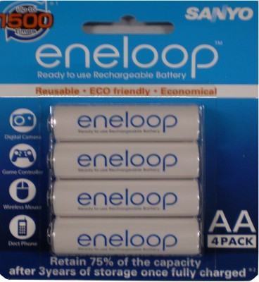 Buy Sanyo (Pre-Charged) 4HR-3UTG-SECP BP Pre-Charged Rechargeable Battery: Rechargeable Battery