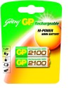 Godrej GP AA 2100mAh (2 Pcs) Rechargeable Ni-MH Battery