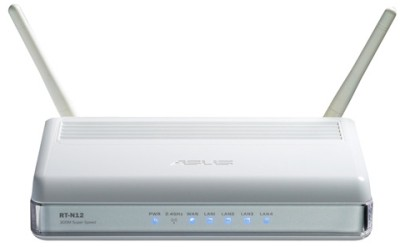 Buy Asus RT-N12 SuperSpeedN Wireless Router: Router