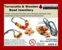 Redbug Wood and Terracotta Jewellery - Star