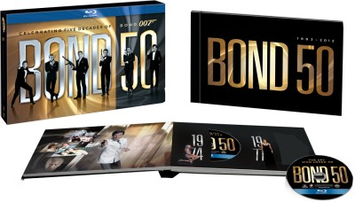 Buy James Bond 50th Anniversary Bluray Box Set: Av Media