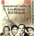 Instrumental Greats Of Moh. Rafi/Lata Mangeshkar/Kishore/Mukesh: Av Media