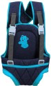 Advance Baby Charcoal Grey With Blue Border Baby Carrier
