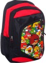 Angry Birds School Bag - Red, Black