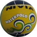 Nivia Molded Water Polo - 5 - Green, Yellow, Blue