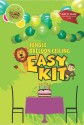 Themez Only Play Ceiling Easy Kit - Jungle Printed Balloon - Multicolor, Pack Of 36