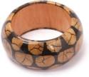 Khoobsurati Spectacular Dual-toned Wood Bangle