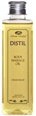 Buy Aloe Veda Distil Stress Relief Body Massage Oil: Bath Essential Oil