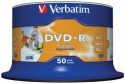 Verbatim DVD-R IJP 50 Pack Spindle - Pack Of 50
