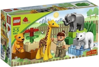 Buy Lego Baby Zoo Animals: Block Construction