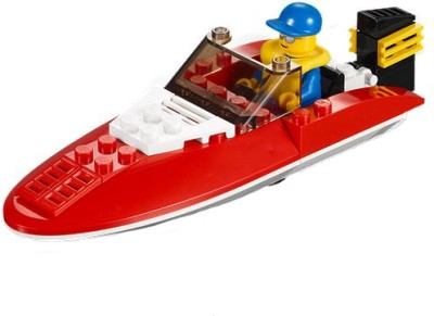 Buy Lego City - Speed Boat: Block Construction
