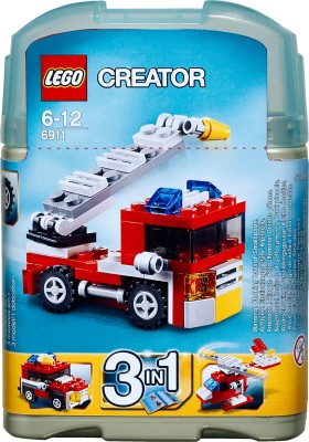 Buy Lego Creator Mini Fire Truck: Block Construction