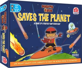 Mighty Raju Cake Images : MadRat Games Mighty Raju Saves The Planet Board Game Best ...