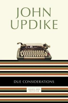 autobiographical essays john updike