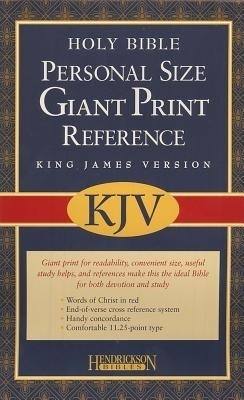 Personal Size Giant Print Reference Bible-KJV price comparison at Flipkart, Amazon, Crossword, Uread, Bookadda, Landmark, Homeshop18